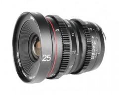 Meike 25mm T2.2 Manual Focus Cinema Lens (MFT Mount)