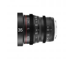 Meike 35mm T2.2 Manual Focus Cinema Lens (MFT Mount)