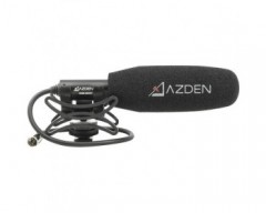 Azden SGM-250MX Compact Shotgun Microphone for Blackmagic Pocket Cinema Camera 4K