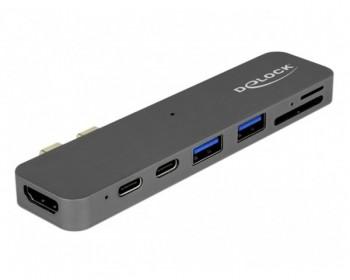 Delock Thunderbolt 3 Docking Station per Macbook con 5K