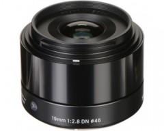 Sigma Obiettivo 19mm F/2.8 (A) AF DN, Attacco Micro 4/3, Mirrorless nero