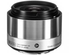 Sigma Obiettivo 19mm F/2.8 (A) AF DN, Attacco Micro 4/3, Mirrorless silver