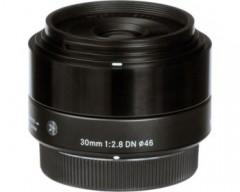 Sigma Obiettivo 30mm F/2.8 (A) AF DN, Attacco Micro 4/3, Mirrorless, nero