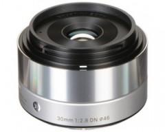 Sigma Obiettivo 30mm F/2.8 (A) AF DN, Attacco Micro 4/3, Mirrorless, silver