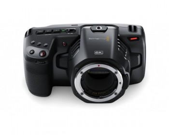 Blackmagic Design Pocket Cinema Camera 6K (Canon EF) - Rental