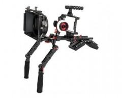 CAME-TV BMPCC Plus Camera Cage Shoulder Rig with Matte Box e Follow Focus per BMPCC 6K/4K