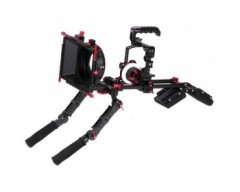 CAME-TV Protective Cage Plus For GH5 Camera Rig With Hand Grip Support
