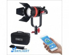 CAME-TV 1 Pc CAME-TV Q-55W Boltzen 55w High Output Fresnel Focusable LED Daylight With Bag