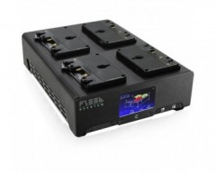 Core SWX FLEET Quantum 4-Position Charger with Touchscreen Color LCD (Gold Mount)