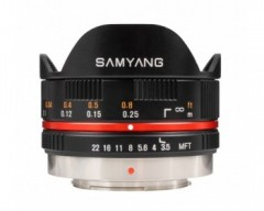 Samyang 7,5mm F3,5 UMC MTF black