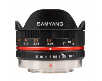 Samyang 7,5mm F3,5 UMC MTF black
