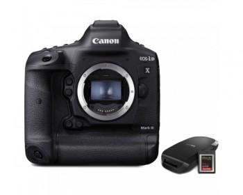 Canon EOS-1D X Mark III DSLR Camera con CFexpress Card