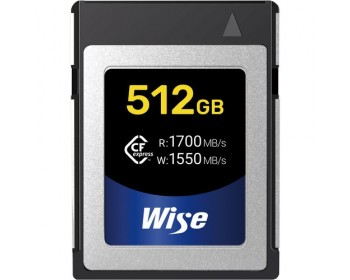 Wise Advanced 512GB CFX-B Series CFexpress Memory Card