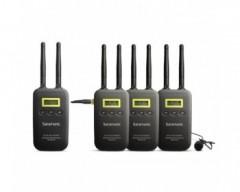 Saramonic Microfoni wireless VmicLink5 3TX+1RX 5.8 GHz