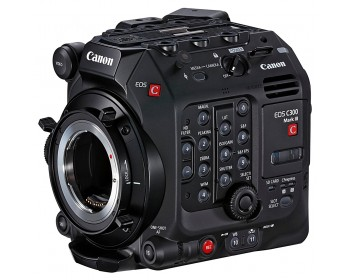 Canon EOS C300 Mark III Digital Cinema Camera Body (EF Lens Mount)