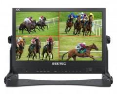 """SEETEC ATEM156 Monitor 15,6 """"con 4 ingressi HDMI Quad Split"""