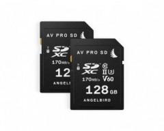 Angelbird AV PRO SD MK2 V60-128GB 2 PACK