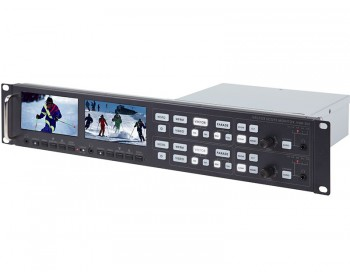 Datavideo VSM200 Vectorscope / Waveform Monitor con 2 Monitor
