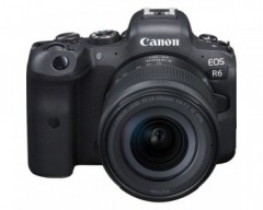 Canon EOS R6 + RF 24-105mm F4-7.1 IS STM Mirrorless Digital Camera