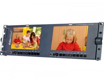 "DataVideo TLM-702 HD 2 x 7"" HD/SD TFT LCD Monitor"