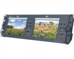 "DataVideo TLM-702 2 x 7"" SD TFT LCD Monitor"