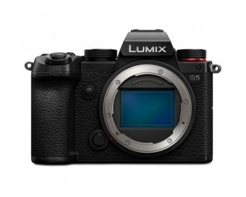 Panasonic Lumix S5 4K/24.2MP Full-Frame Mirrorless Camera - Body Only