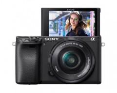 Sony Fotocamera Alpha 6400 con Obiettivo Power Zoom 16-50 mm