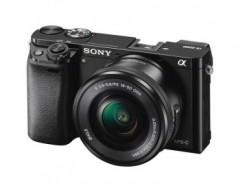 Sony Fotocamera Alpha 6000 con sensore APS-C e attacco E con Obiettivo Power Zoom 16-50 mm (Nero)