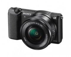 Sony Fotocamera Alpha 5100 con sensore APS-C e attacco E con Obiettivo Power Zoom 16-50 mm