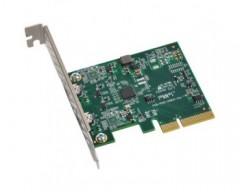 Sonnet Allegro USB 3.1, Scheda PCIe, 2 Porte USB-C 10Gb (15W L'una)[Compatibile Con Thunderbolt]