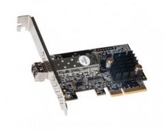 Sonnet Solo10G SFP+ 10 Gigabit Ethernet Adapter (SFP+ [SR] Included) [Thunderbolt Compatible],