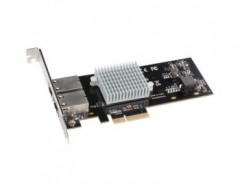 Sonnet Scheda PCIe Presto 10GBASE-T Ethernet 2-Porte [Compatibile Con Thunderbolt]