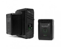 Core SWX NANO Micro 98Wh Lithium-Ion 2-Battery Kit with Dual Travel Charger (V-Mount)
