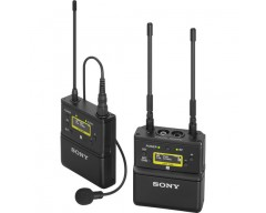 Sony UWP-D21 Camera-Mount Wireless Omni Lavalier Microphone System UHF
