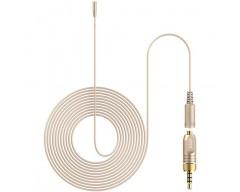 Deity Microphones W.Lav Micro DA35 Bundle Subminiature Omni Lavalier Microphone con Microdot a Locking 3.5mm Adapter (Beige)