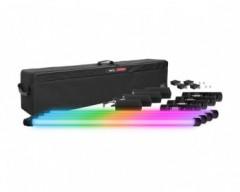Vibesta Peragos Tube 120C PIXEL (4 Light Kit) Multi-Color RGBW LED Tube Light