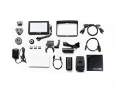 "Smallhd FOCUS 5"" On-Camera Monitor Gimbal Kit with International Charger Power Supply"