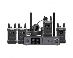Hollyland Full-Duplex Intercom System con Four Beltpack Transceivers