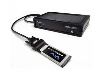 AJA Io Express Portable Video Audio I/O con Express Card/34