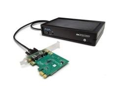AJA Video IO-Express Portable Video - Audio I/O Interface per PCIe