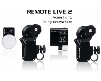PDMOVIE PDL-FZ PD Movie Remote Live 2 Compact 2-Ch Focus/Iris/Zoom Control Kit
