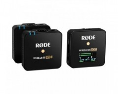 Rode Wireless GO II 2-Person (2.4 GHz, Black)