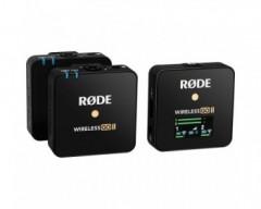 Rode Wireless GO II - Dual Wireless Mic System (2.4 GHz, Black)