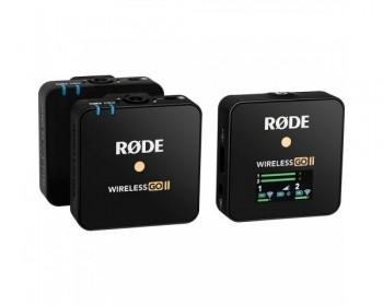 Rode Wireless GO II Sistema / registratore microfono wireless digitale compatto