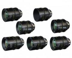 DZOFILM Vespid Prime FF Kit B / 25mm, 35mm, 50mm, 75mm, 100mm, 125mm T2.1 + 90mm Macro T2.8 PL Mount Lenses