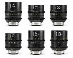 DZOFILM Vespid Prime FF Kit A / 25mm, 35mm, 50mm, 75mm, 100mm, 125mm T2.1 PL Mount Lenses