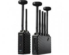 Teradek TER-10-2220-G 4K LT MAX 3G-SDI/HDMI Wireless RX/TX Deluxe Kit (Gold Mount)