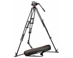 Manfrotto Kit 502, treppiede 546GB, Stella a terra, sacca