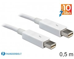 Delock Cable Thunderbolt™ male / male 0,5 m white