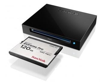 Sandisk Extreme Pro CFast 2.0 Memory Card Reader / Writer